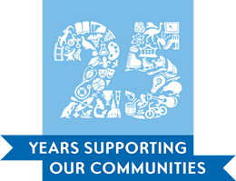 25 year supporting our communities