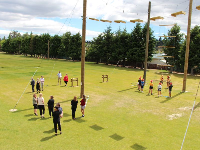 Dunstan High School High Ropes Course